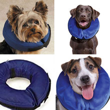 Inflatable Collar Dog Soft E-Collar Pet Protection Protect Head Cone L Size(China)