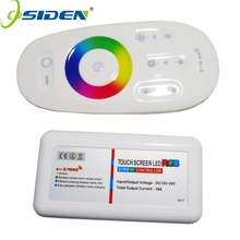 OSIDE RGB RGBW controller Wall Mounted LED controller Touch pannel 12V24V 18A Wireless 2.4G Remote LED RGB Strip /Bulb/Downlight