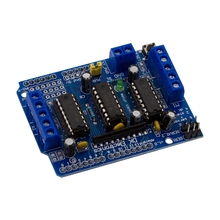 L293D Motor Drive Shield Dual for Arduino Duemilanove, Motor Drive Expansion Board Free Shipping
