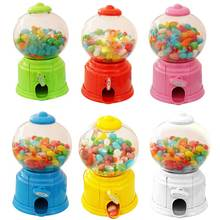 Lovely Sweets Mini Candy Machine Bubble Gumball Dispenser Coin Bank Kids Toy Money Saving Box for Baby Gift Toys    Sa J