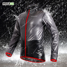 WOSAWE Cycling Jacket Multi function Rain Jackets Waterproof Windproof Mtb Bike Bicycle Jersey Ciclismo Rain coat with hood