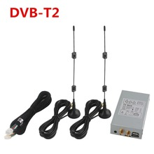 External Special HD DVB-T2 Digital TV Box With Dual Antenna for Ownice Car DVD Player For Russia Thailand Malaysia Area