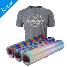 Q3 Kenteer Garment Heat Transfer Vinyl Hologram Rolls