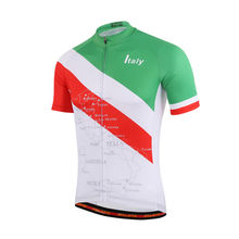 New Italy Short Sleeve Cycling Jerseys Mountain Bike Tops Bicycle Jacket MTB Jersey For Summer S-5XL