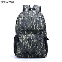 Buy Camouflage Waterproof Women Men Outdoor Bags Climbing Hiking Camping Backpack Rucksacks Travel Sport Bag 5 Colors for $22.80 in AliExpress store
