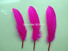 Wholesale! 10Pcs DIY Natural Goose Feathers Rose Color Home Christmas Cosplay Decoration Plume Clothing Shoes Hat Accessories