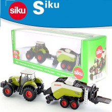 SIKU 1:87 Mini lawnmower Farm tractor front alloy model children's toys cars toys kid's gifts Alloy Model Gifts FreeShipping