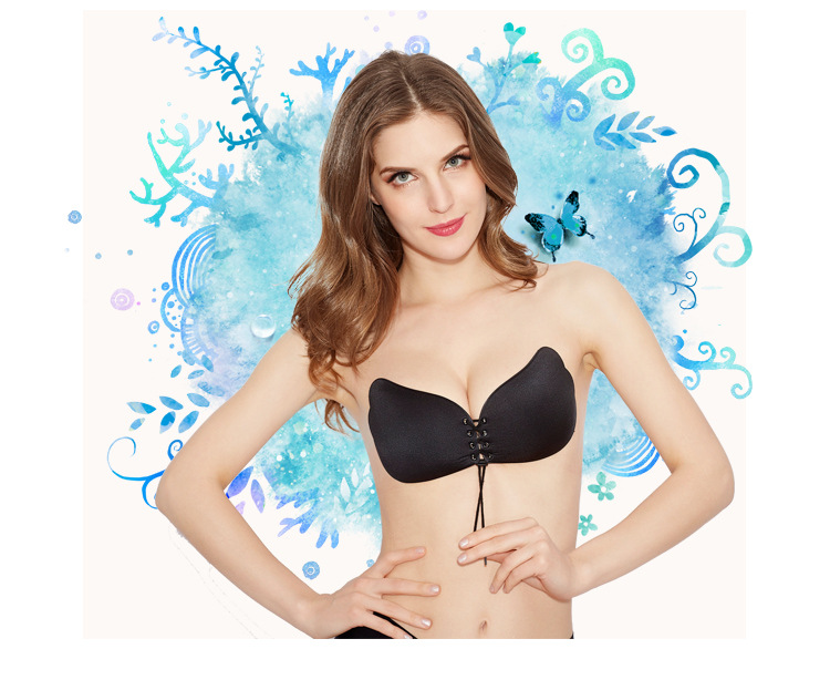 Fly Bra Invisible Bra 1/2 Cup Push Up Women fly bra Strapless Bandage Bra Sexy Seamless soutien gorge adhesif Bralette Women 5