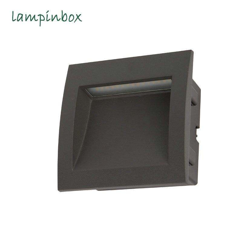 Embedded Outdoor Waterproof Wall Lamp LED Corner Lights Modern Simple High End Lighting Waterproof IP65 Wall Lamp led Light<br>