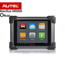 Autel Maxisys MS908 Automotive Diagnostic Scanner Tool Connected with MaxiFlash Elite J2534 likes MS908P Pro supports ECU coding(China)