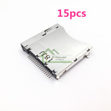 15pcs for Nintendo DS Lite Game Console Original New Card Slot Replacement Card Slot for NDSL Repair Part