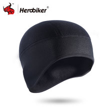 HEROBIKER Motorcycle Riding Windproof Hat Autumn And Winter Cap Warm Outdoor Riding Protective Hood Black Warm Mask(China)