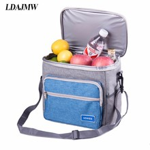 LDAJMW Portable Ice Bags Food Storage Bag Insulated Cooler Bag Picnic Lunch Package For Women Men(China)