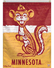 Minnesota Golden Gophers Throwback Helmet Team American Outdoor Indoor Football College House Flag 3X5 Custom Any Flag