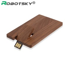 HOT! Wooden usb flash drive 2GB 4GB 8GB 16GB 32GB 64GB USB 2.0 flash drive memory Stick pendrive Wooden Package Wholesale