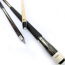 Professional Maple Pool Cues Billiard Cue Case Stick 11.75mm/12.75mm Tips Black 8 A/B Handle