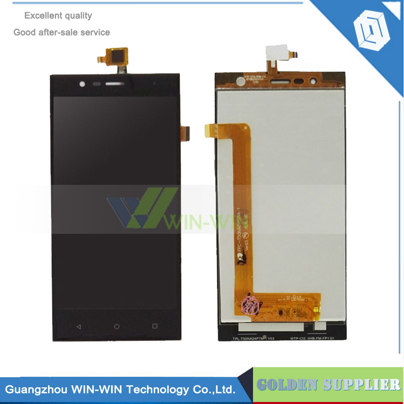 New Touch Panel For Highscreen Boost 3 Black Front Touch Screen+LCD Display Digitizer Glass Sensor Panel Assembly Repartment<br>