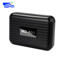 TOPIN Magnetic GPS Tracker Locator Anti-Lost Long Standby 150 Days Real-time Tracking Free Web App For Car Vehicle Motor ZX801(China)