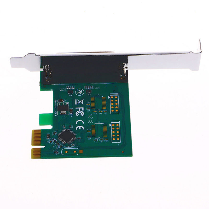 25Pin LPT Printer to PCI-E ExpessCard Converter PCI Adapter + Driver CD(China)