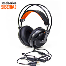 Steelseries Siberia V2 200 Comfortable Gaming Headsets eSports 50mm Driver units Super bass Padded Earcups Headphones