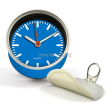 Kitchen Fridge Magnet Color Clocks,Aluminum Table Clocks, Aluminum Wall Clocks White/Black/Red/Blue/Orange2pcs/lot Free Shipping