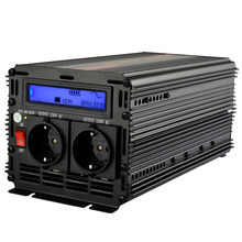 Universal inverter 12v 220v 1500w 3000w peak pure sine wave power inverters with LCD