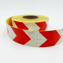 50mm X 5m Reflective Tape Adhesive Stickers Decal Decoration VW Warning Tapes Vinyl Film Safety Auto Reflector Sticker on Cars