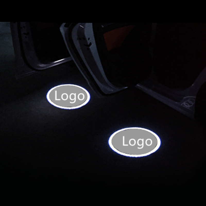 LED Car Door Logo Projector Laser Light Emblems Welcome Ghost Shadow Logo lamp FOR Audi A8 A7 A3 Q3 A6<br><br>Aliexpress