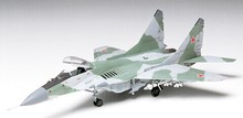 Assembling aircraft model 1/72 Soviet MIG -29 fighters  Toys