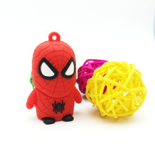 2016 Hot Cartoon Spider Man Cute Pen Drive Disk USB Stick Pendrive Stick Device USB Flash Drive 128GB 64GB 32GB 16GB 8GB 4GB(China)
