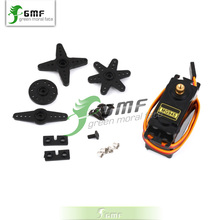 4 pieces Car model robot remote control plane  MG945 13 kg /  Metal large torque steering gear  13 kg tensile