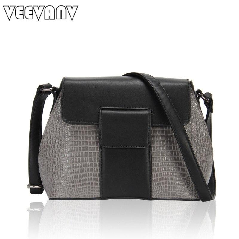 2018 Fashion Shell Women Messenger Bags Panelled Crossbody Bag Office Lady Handbags Leather Shoulder Bag Designer Female Hangbag<br>