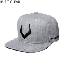 (BUILT CLEAR) baseball cap new hat wool embroidery women snapback baseball hat wholesale men snapback hip-hop cap free shopping