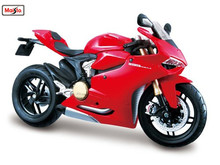 Maisto 1:12 11108 Ducati 1199 Panigale MOTORCYCLE BIKE Model FREE SHIPPING