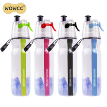 Buy 500ml Spray Water Bottle Double-deck Sports Drink Spray Water Bottle Cold Insulation Outdoor Bike Bicycle Cycling Hiking Sports for $4.90 in AliExpress store