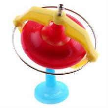 Creative Spinning Top Toys Magic Gyroscope Toy Music With LED Music Whirling UFO Toy(China)