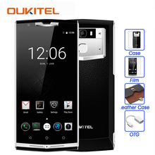 Oukitel k10000 pro 10000mAh 4G Mobile Phone MTK6750T Octa Core 5.5 inch Android 7.0 3GB+32GB 13MP Fingerprint ID OTG Smartphone(China)