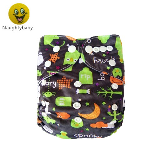 Free Shipping  Baby Reusable Washable Eco-friendly Baby Diapers New Prints Cloth Diaper Without Hemp  Insert 25pcs/lot