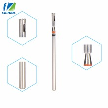 VICTOOL High Quality Tungsten Nail Dril Bit For Corn Clean 3/32inch For Electric Manicure Pedicure Machine Pro Nail Art Tools 01