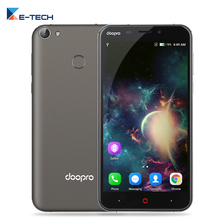 Doopro P2 Pro Quad Core Cellphone5200mAh Battery 5MP Android 6.0 Mobile Phone 2GB RAM 16GB ROM Unlock 4G Fingerprint Smartphone