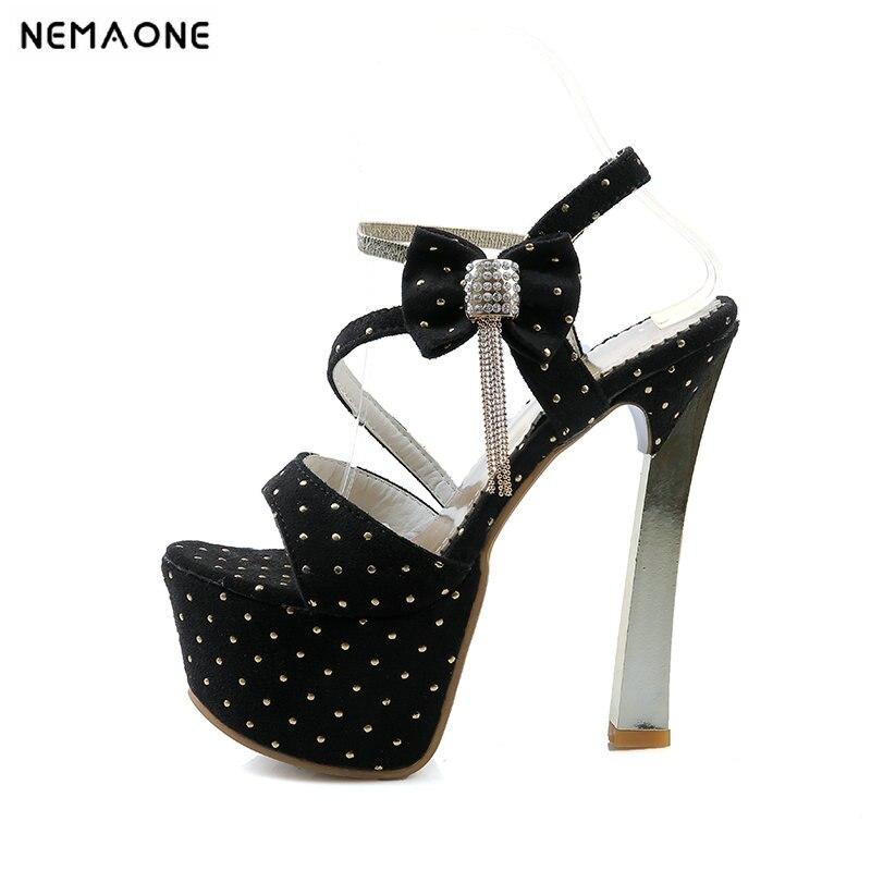 Sweet wedding shoes platform sandals party shoes for women shoes heels sandals thin heels women sandals high heels sandals<br>