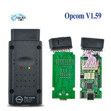 Opcom 2012V Can OBD2 For Opel Firmware V1.59 PC Based Opel Diagnostic Tool CAN-BUS Diagnostic with PIC18F458 Chip Support
