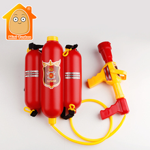 MiniTudou Summer Outdoor Toys For Kids Fire Extinguisher Backpack Water Gun Toys Backpack Toy