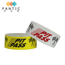200pcs no logo single use oem wristband for halloween, party armband,custom paper wristbands, cheap sports wristbands