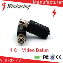 3 Pairs free shipping PURE COPPER BNC CCTV Passive Video Balun(China)