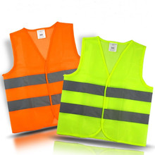 Reflective Vest Security Equipment Night Work New Arrival High Quality For Running, Cycling, Warning Safety Chaleco Reflectante(China)