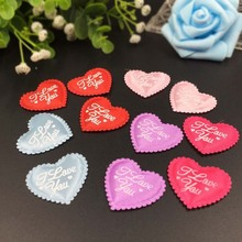 100pcs/lot New ! Wedding Decoration Love You Throwing Heart Petals Wedding Petals Table Scatter Confetti Valentines decoration