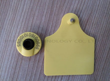 134.2KHz ISO Standard LF Passive HDX RFID ear tag for animal cattle sheep pig management(China)