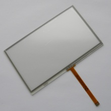 New 5 inch 4Wire Resistive Touch Panel Digitizer Screen For Pocket Navigator Pn-500 GPS Free shipping