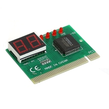 2 Bit PC PCI Diagnostic Card Motherboard Analyzer Tester Post Analyzer Checker #R179T#Drop Shipping